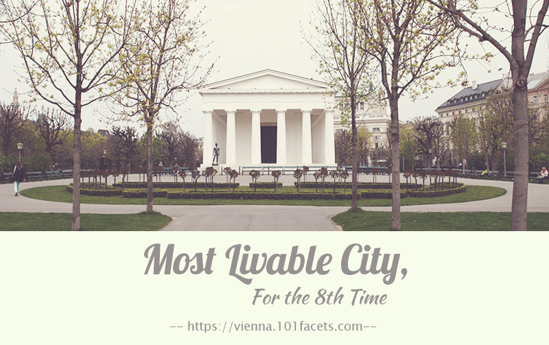 Most Livable City, For the 8th time