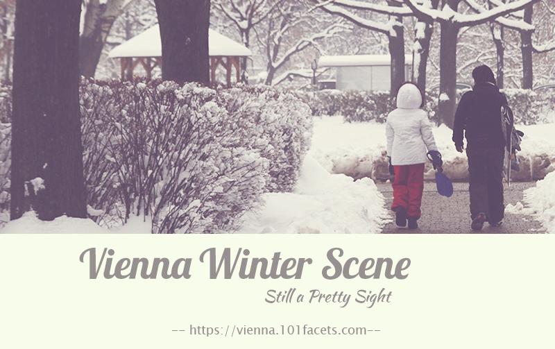 Vienna Winter Scene, Still a Pretty Sight
